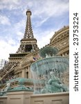 Stock photo las vegas nevada january the eiffel tower in las vegas continues to be a popular attraction in 23753224