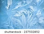 Abstract Background Of Frost...