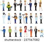 cartoon vector characters of... | Shutterstock .eps vector #237567082