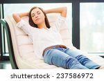 total relaxation. beautiful... | Shutterstock . vector #237586972