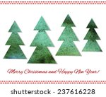 greeting card for new year or...   Shutterstock .eps vector #237616228