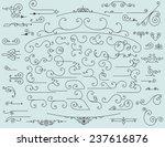 65 design elements | Shutterstock .eps vector #237616876