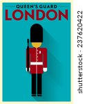queen's guard vector... | Shutterstock .eps vector #237620422