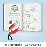 businessman infographics.vector ... | Shutterstock .eps vector #237643468