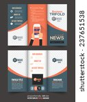 tri fold brochure and catalog... | Shutterstock .eps vector #237651538