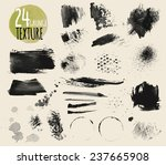 set of watercolor textures.... | Shutterstock .eps vector #237665908