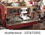 coffee making in coffee shop | Shutterstock . vector #237672502