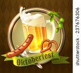 oktoberfest german festival...   Shutterstock . vector #237676306
