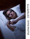 horizontal view of woman... | Shutterstock . vector #237699775