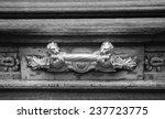 Royal Style Doorknocker On Old...