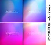 vector subtle blurry glowing... | Shutterstock .eps vector #237738112