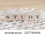 study word background on wood... | Shutterstock . vector #237739456