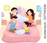 illustration of a family having ... | Shutterstock .eps vector #237742336