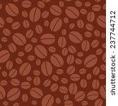 coffee beans dark brown... | Shutterstock . vector #237744712