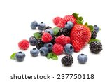 assorted fruits and mint leaves ... | Shutterstock . vector #237750118