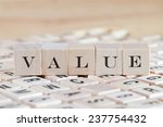value word background on wood... | Shutterstock . vector #237754432