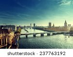 Westminster Aerial View  Londo...