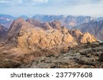 view from mount sinai. egypt. | Shutterstock . vector #237797608