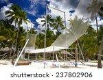 acrobatic sports in caribbean... | Shutterstock . vector #237802906