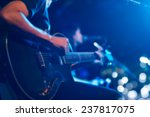 guitarist on stage for... | Shutterstock . vector #237817075