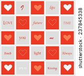 vector heart icons and badges...   Shutterstock .eps vector #237845338