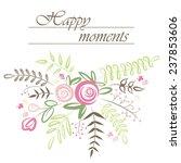 Stylish Floral Background....