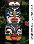totem pole  | Shutterstock . vector #237857215