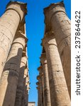 luxor temple  a large ancient... | Shutterstock . vector #237864622