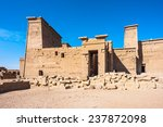 temple of isis from philae ... | Shutterstock . vector #237872098