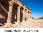 temple of isis from philae ... | Shutterstock . vector #237873448