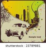 retro design with vintage car... | Shutterstock .eps vector #23789881