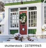 old style north american home... | Shutterstock . vector #237899965