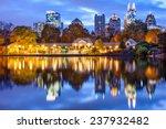 atlanta  georgia  usa downtown... | Shutterstock . vector #237932482
