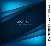 blue modern vector background... | Shutterstock .eps vector #237940828