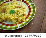 Small photo of Fish and brewis - traditional Newfoundland meal consisting of codfish