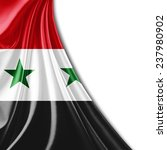 syria flag and white background | Shutterstock . vector #237980902