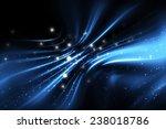 abstract blue elegant... | Shutterstock . vector #238018786