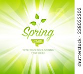 vector illustration spring... | Shutterstock .eps vector #238022302
