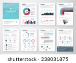 big set of infographic vector... | Shutterstock .eps vector #238031875