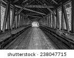 looking inside an old wooden... | Shutterstock . vector #238047715