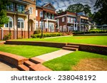 the town green in downtown... | Shutterstock . vector #238048192