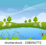 spring flowers | Shutterstock .eps vector #238056772