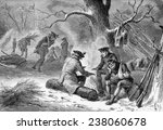 American Soldiers At Valley...