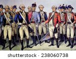The Battle of Yorktown, General George Washington accepting the surrender of General Charles Cornwallis, October 19, 178 1, lithograph by Currier & Ives, 1876