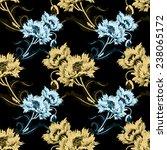 garden cornflower retro... | Shutterstock . vector #238065172