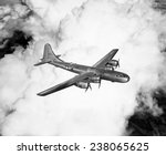 A Boeing B-29 Superfortress ca 1944