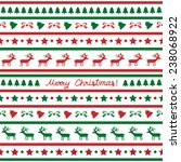 Seamless Christmas Pattern For...