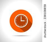 clock icon vector object... | Shutterstock .eps vector #238108858
