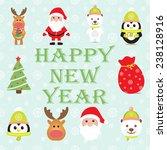 new year 2015. christmas... | Shutterstock .eps vector #238128916