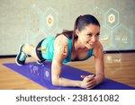 fitness  sport  training ... | Shutterstock . vector #238161082